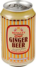 Royalty Ginger Beer Diet Case 24x 330ml Cans