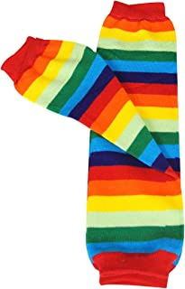 Wrapables Colorful Baby Leg Warmers, rainbow brite, One Size