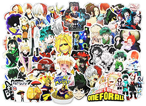 Stickers 100 Pcs , Anime Dragon Ball Cartoon Laptop Stickers Funny Vinyl Decals for Kids Snowboard Skateboard Water Bottles Motorcycle Car No-Duplicate Aesthetic Waterproof Sticker Pack - Dragon Ball