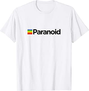 Paranoid - Aesthetic Vintage Vaporwave Fashion T Shirt