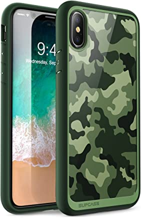 Funda para iPhone X, Supcase iPhone 10 Compatible con iPhone Xs 5.8,Unicorn Beetle Style Premium Hybrid Protector Transparente Bumper [Resistente a los Rayones] para Apple iPhone X / iPhone 10 2017 la liberación