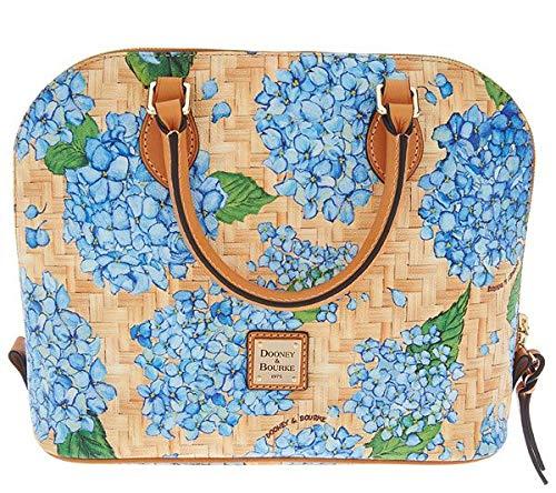 Dooney & Bourke Zip Zip Satchel Bag, Hydrangea Blue