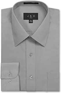JD Apparel Men's Regular Fit Dress Shirts