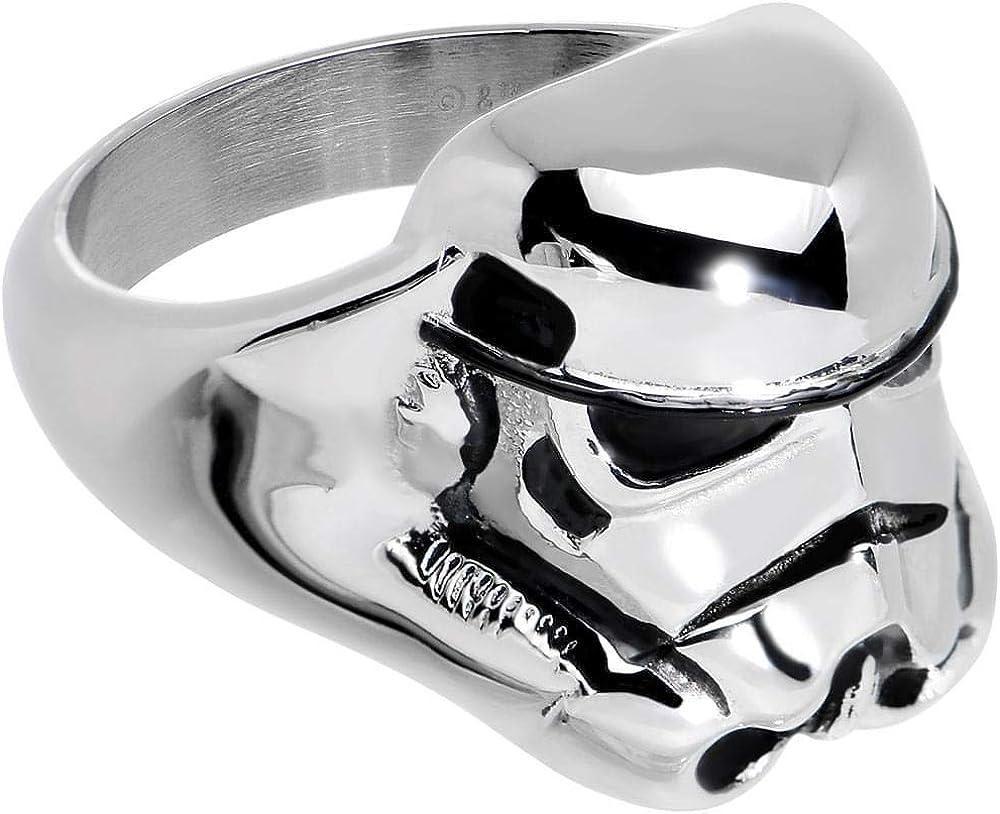 Animewild Star Wars 3D Storm Trooper Ring Size (6)