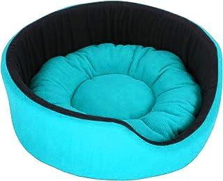 PAWSOME Luxurious Soft Dog/Cat Bed (Sky Blue), Sky Blue ,Small (PWFB178S)