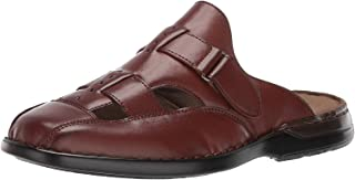 Stacy Adams Mens 25261-221 Alba Closed Toe Slide Sandal Brown Size: