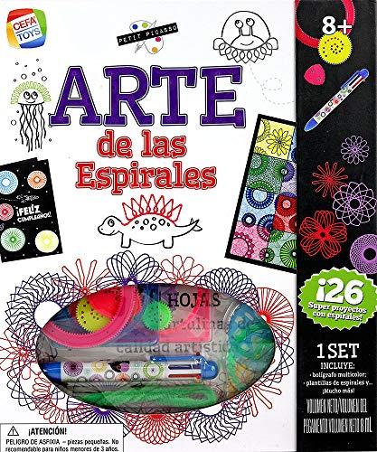 Cefa Toys ARTE DE LAS ESPIRALES PETIT PICASSO, color blanco (Spice box 571), color/modelo surtido