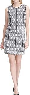 Womens Metallic Tweed Wear to Work Dress