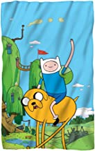 Jake & Finn -- Adventure Time -- Fleece Throw Blanket (36