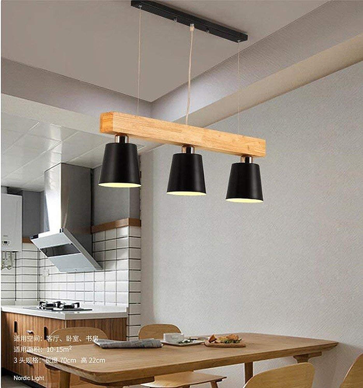 Nordic Kronleuchter Pendelleuchte Deckenleuchte Kreative Holzkunst Moderne Wohnzimmer Schlafzimmer Studie Bar Bekleidungsgeschft Coffee Shop D-No Glühbirne