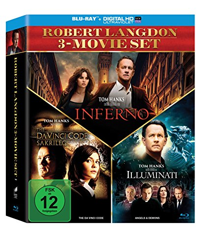 The Da Vinci Code - Sakrileg / Illuminati / Inferno (3er BD Set) [Blu-ray]