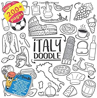Jumbo Coloring Book Italy, Magic, Frozen, Life, Unicorn, St Patricks, Summer, Happy, Zoo, New York, Flowers, Chocolate, Baby and others. Large 200+ ... (Coloring Book Italy and others Doodle)
