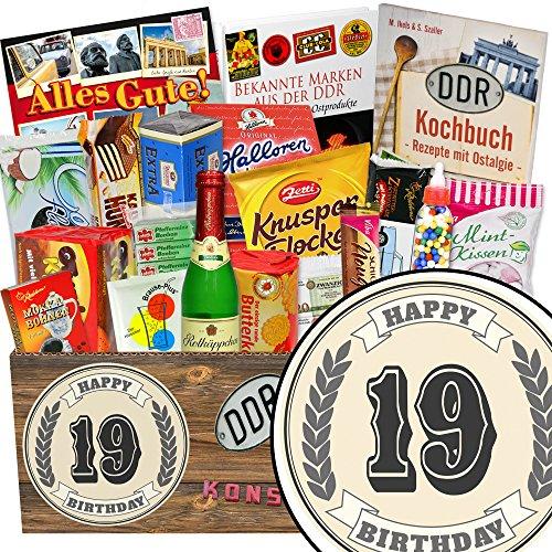 19. Geburtstag / Süßes Ostpaket / lustige Geschenke 19 Geburtstag Mädchen