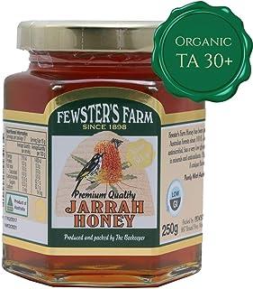 Fewster's Farm Jarrah Honey - Raw, Organic TA 30+ Active Honey