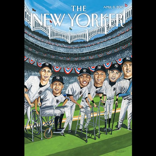 The New Yorker, April 8th 2013 (Hisham Matar, Jeremy Denk, Hendrik Hertzberg) audiobook cover art