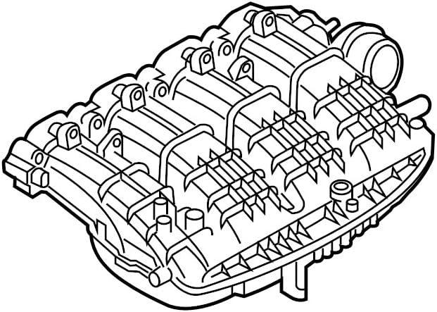 Max 43% OFF Genuine OEM Engine Free shipping Intake Audi 06L133201BQ Manifold for