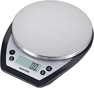 Salter Aquatronic Digital Kitchen Scale (Silver and Black)