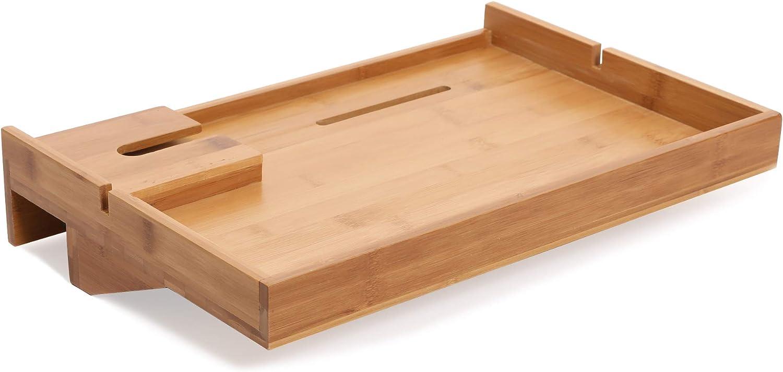 Bamboo Bedside Shelf Floating Shelves Nightstand for Bedrooms Bunk Beds,Plus Size