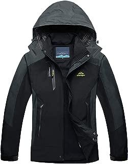 TACVASEN Men's Outdoor Sports Hooded Windproof Thin Hiking Climbing Jacket Waterproof Rain Coat