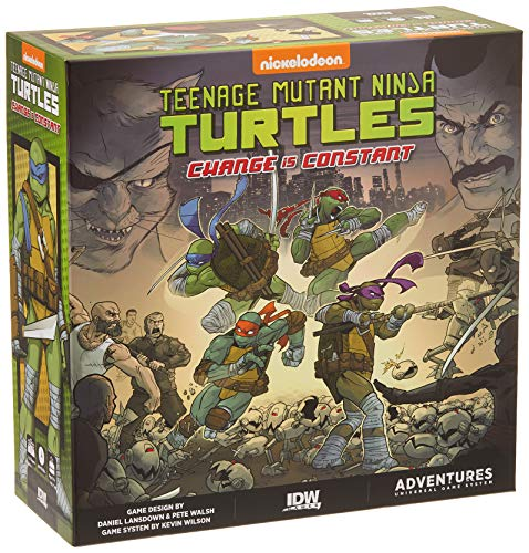 IDW Games IDW01680 Teenage Mutant Ninja Turtles: Change is Constant