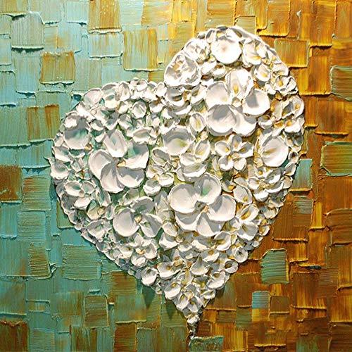 Handgemalte Kunst Blue Butterfly Ölgemälde auf Leinwand Kunst Wandbild Wohnzimmer Wandbild Home Decoration 60x60cm