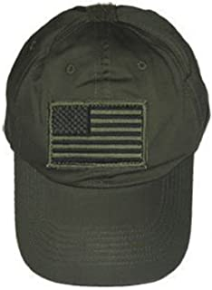 Special Force Tactical CAP HAT Removable Patch--OD GREEN