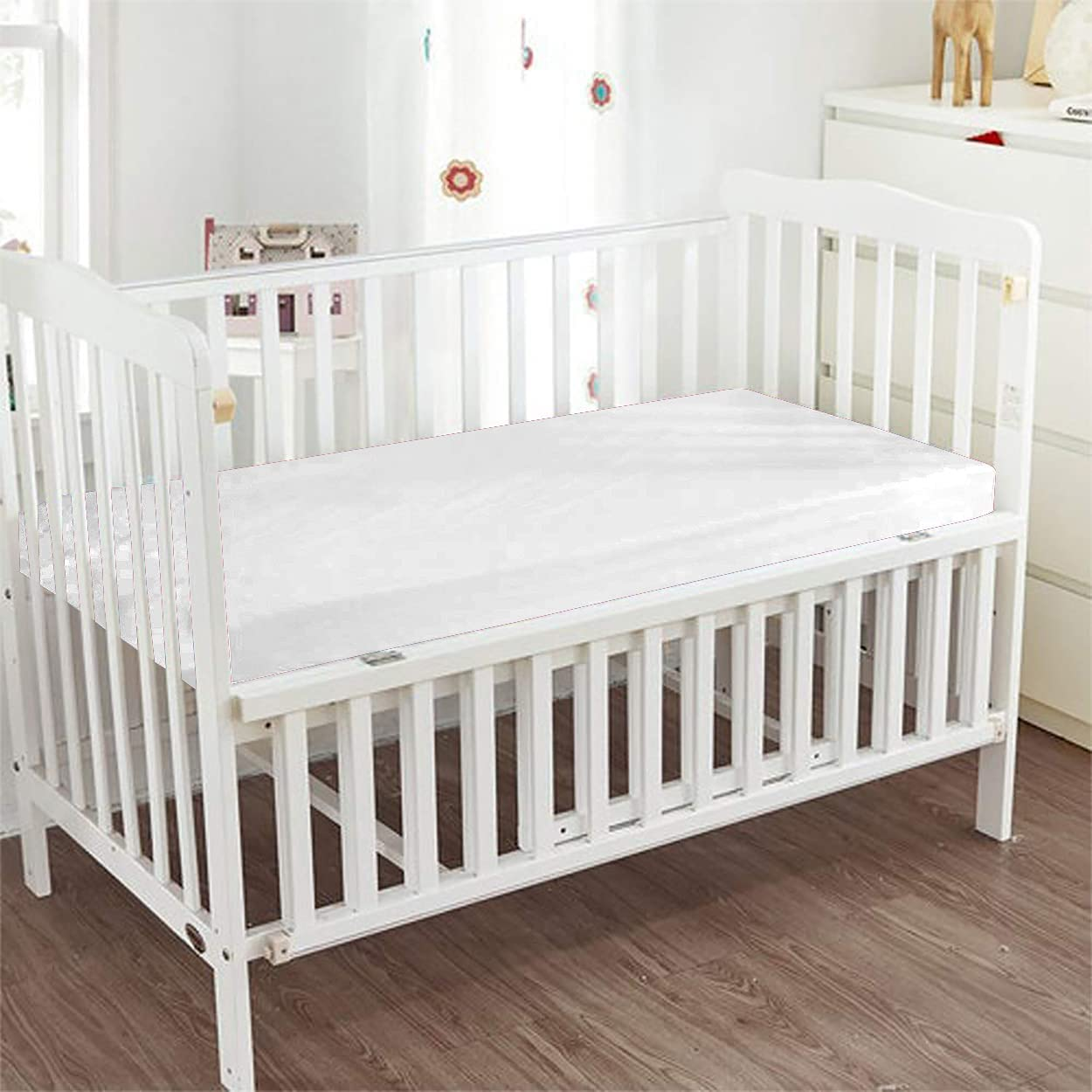 GetBedding - Fitted Crib Sheet Solid Egyptian 100% Cotto San Antonio Mall Ranking TOP8 Color