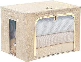 SY-Home Grande fenêtre Pliable Stockage Cubes, Pliable Boîte de Rangement Organisateur Panier avec poignées, pour la Maiso...
