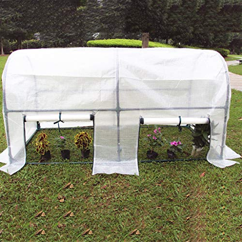 With Roll-up Window Mini Garden Greenhouse Garden Shed Garden Shed Greenhouses for Outdoors Steel Pipe Diameter 19MM, Wall Thickness 0.5MM Insulation in Winter