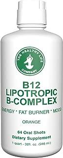 MAX Energy B12, Lipotropic, B-Complex and Amino Power Shots (64 Shots)