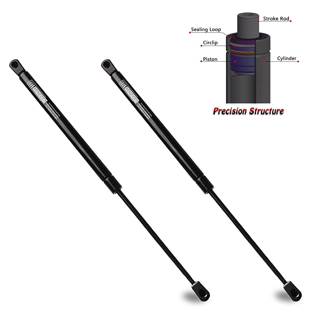 Beneges 2PCs Front Hood Supports Compatible with 2004-2006 Lexus RX330, 2007-2009 Lexus RX350, 2006 Lexus RX400H Gas Spring Charged Lift Struts Shocks Dampers 53440-0E010, 4179, PM3216