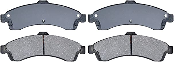 ACDelco 14D882CH Advantage Ceramic Front Disc Brake Pad Set with Hardware