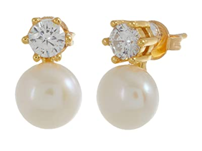 SHASHI Baby Bliss Stud Earrings (Gold) Earring