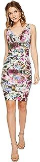Nicole Miller Women's Krista Mirrored Blossom Dress