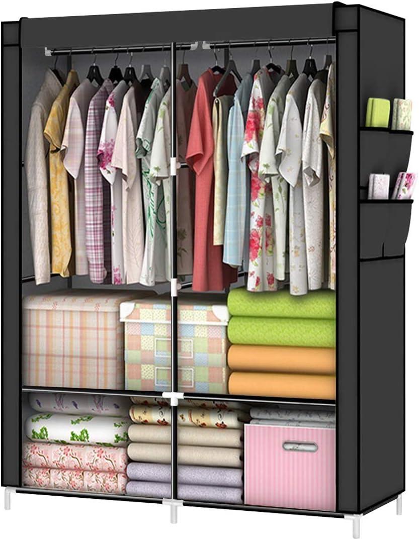 YOUUD Columbus Mall Closet free shipping Portable Wardrobe Organizer