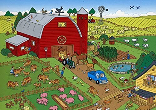 tomar hasta un 70% de descuento MasterPieces - 101 Things To To To Spot On The Farm - Jigsaw Puzzle - 100 Pc by MasterPieces  tienda en linea