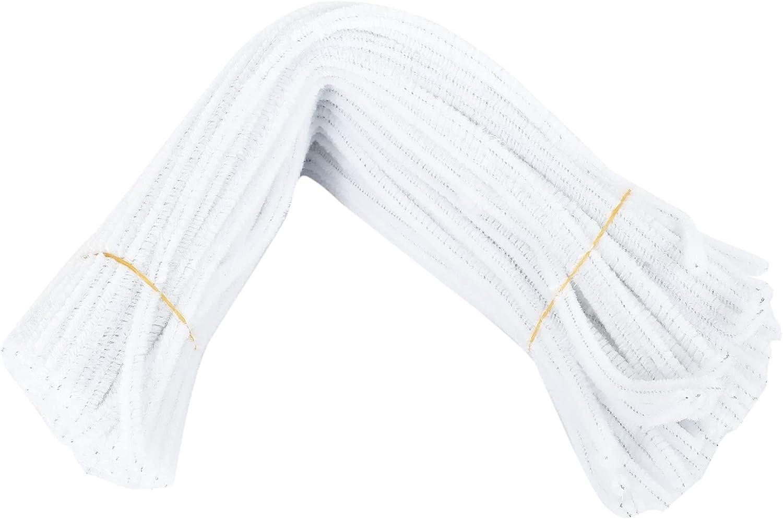 GFHFG 100 Philadelphia Mall Pcs 30cm White Pipe Creation Max 49% OFF Cleaners
