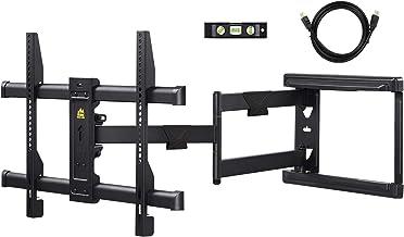 FORGING MOUNT Long Extension TV Mount Corner Wall Mount TV Bracket Full Motion with 30 inch Long Arm for Corner/Flat Insta...