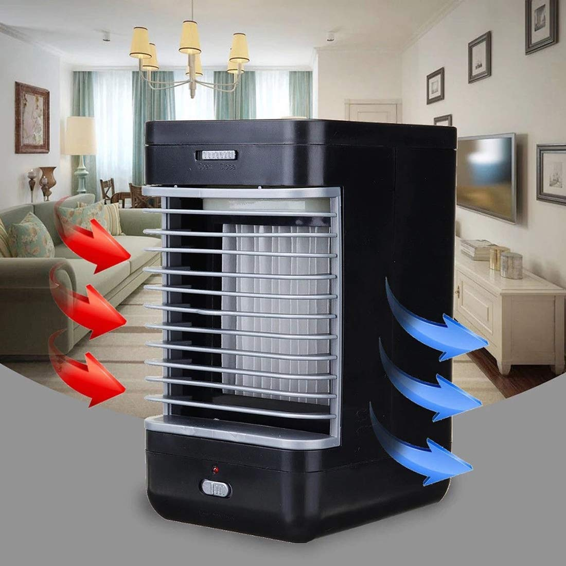 Jun Refrigerador De Aire, Ventilador De Enfriamiento 3 En 1 ...