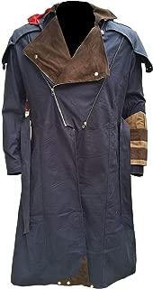 Marche Sydney Arno Dorian Dan Jeannotte Coat with Detachable Hood Cosplay Costume Denim Cloak