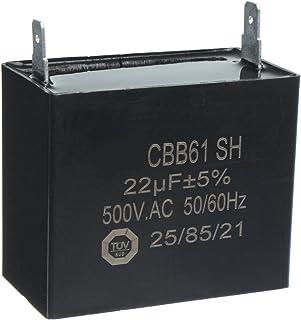 Generic CBB61 SH 22uF MFD 500V AC 50/60Hz E232607 Condensador Generador Capacitor AVR