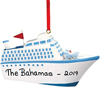 HOLIDAY PEAK Personalized Cruise Ship Ornament
