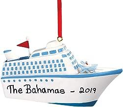 HOLIDAY PEAK Personalized Cruise Ship Ornament