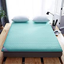 Futon Mattress, Student Dormitory Folding Mattress, Portable Thicken Pad Tatami Floor mat for Home Camping,B,180 * 200cm/7...