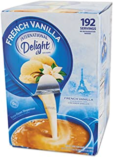 International Delight Creamer Singles French Vanilla - Single Serve Non Dairy Delicious Flavored Coffee Creamers For Home ...