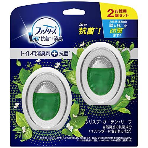 ファブリーズ 消臭剤+抗菌 W消臭 トイレ用 クリスプ・ガーデン・リーフ 6mLx2
