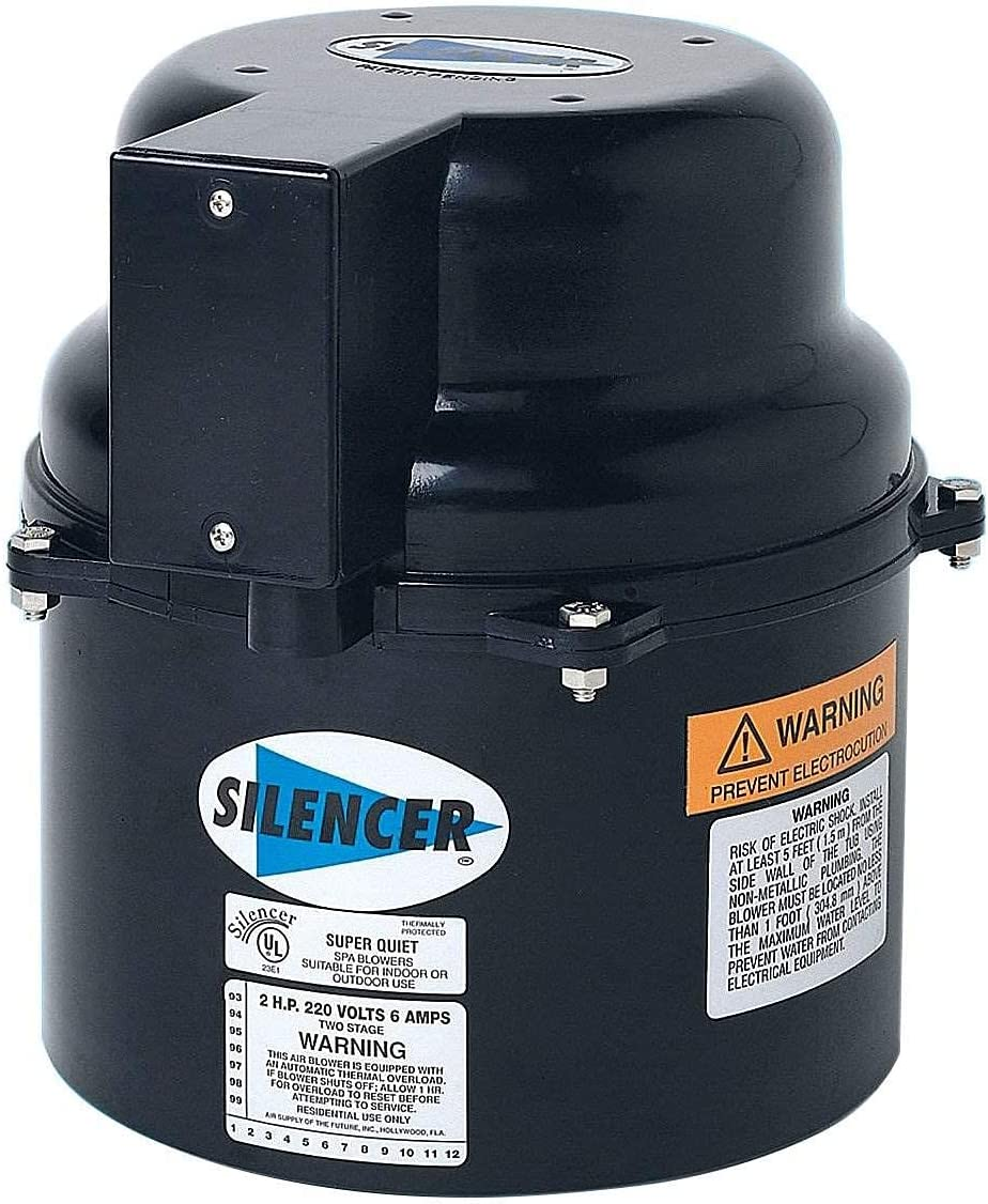 Air Supply 6310220F 1 HP 240 Silencer Amp 2.4 Portable Volt Pool Max 90% OFF OFFicial shop