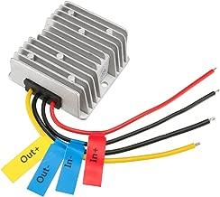 uxcell Power Converter Regulator DC12V/24V Step-Down to DC6V 20A 120W Waterproof Voltage Convert Transformer