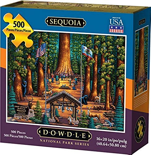 Dowdle Sequoia National Park 500pcs Puzzle by Dowdle
