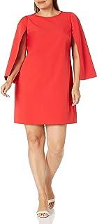Eliza J Women's Cape Sleeve Shift Dress